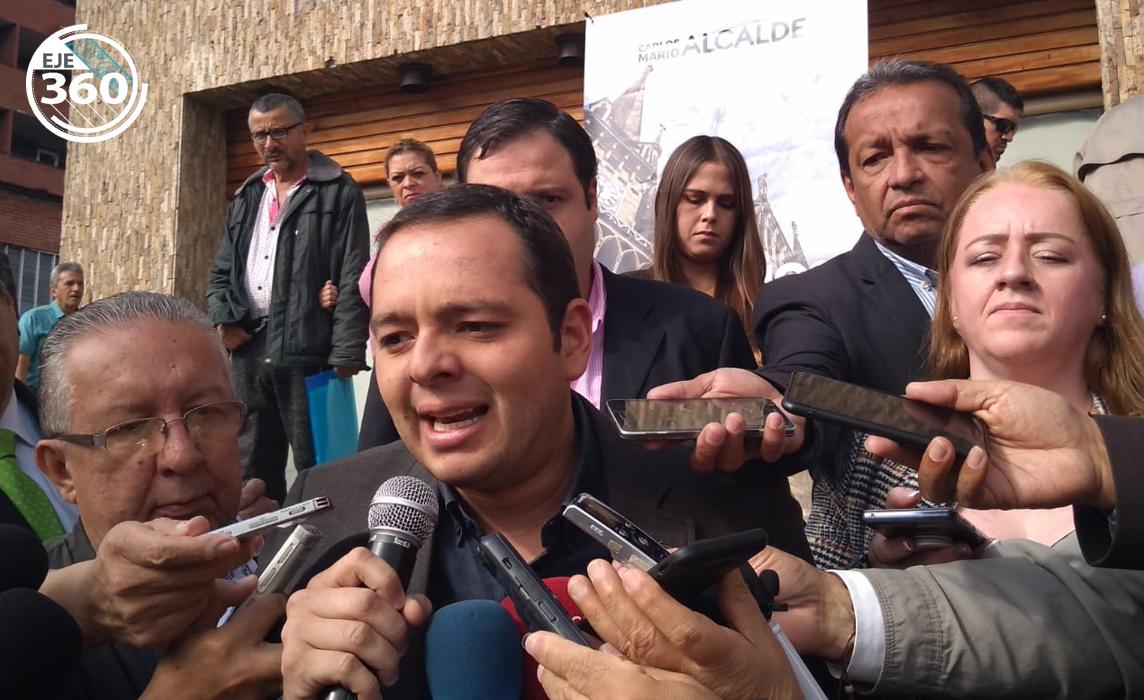 Carlos Mario Marín, alcalde electo Manizales.