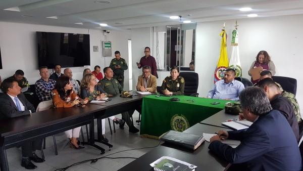 Consejo Seguridad Manizales /Foto: Prensa Alcladía Manizales