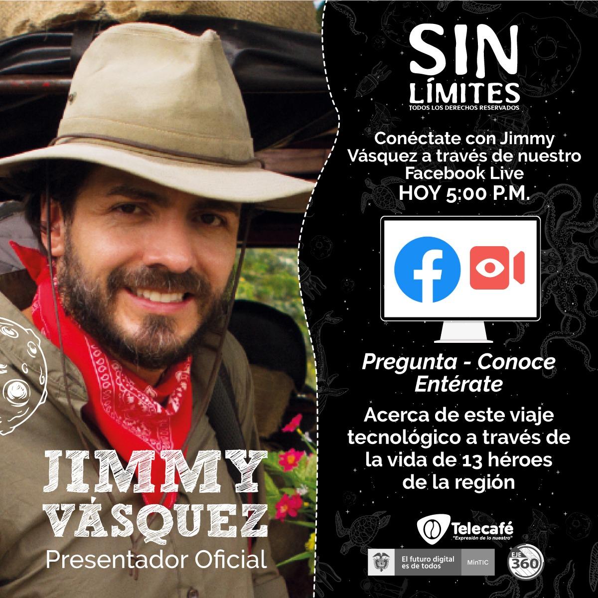 Jimmy Vásquez Facebook Live