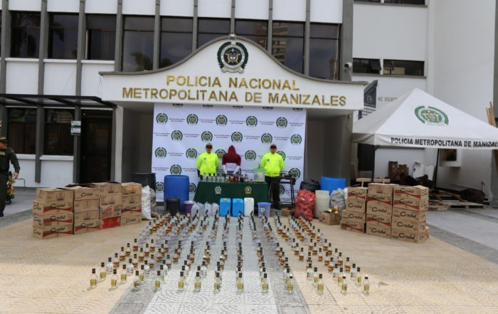 Desmantelada fábrica de licores / Foto: MEMAZ