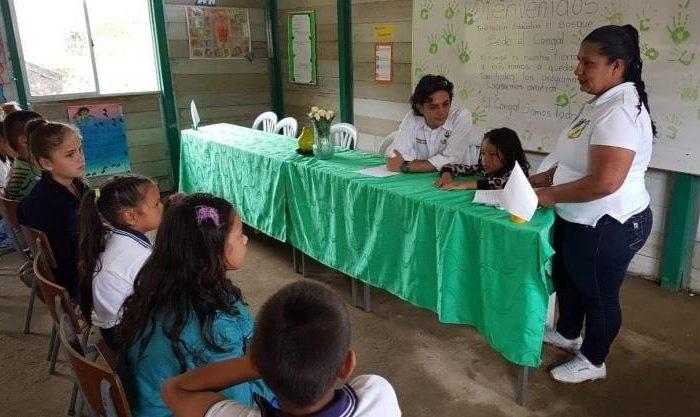 Escuela El Congal /Foto:cortesía Comunicaciones Gobernación de Caldas