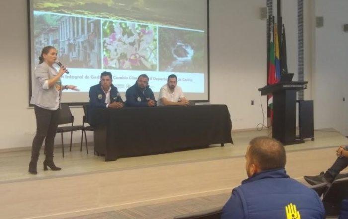 Socialización cambio climático / Foto: Comunicaciones Gobernación de Caldas