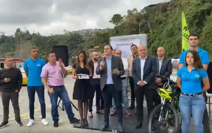 Facebook live Alcalde de Manizales