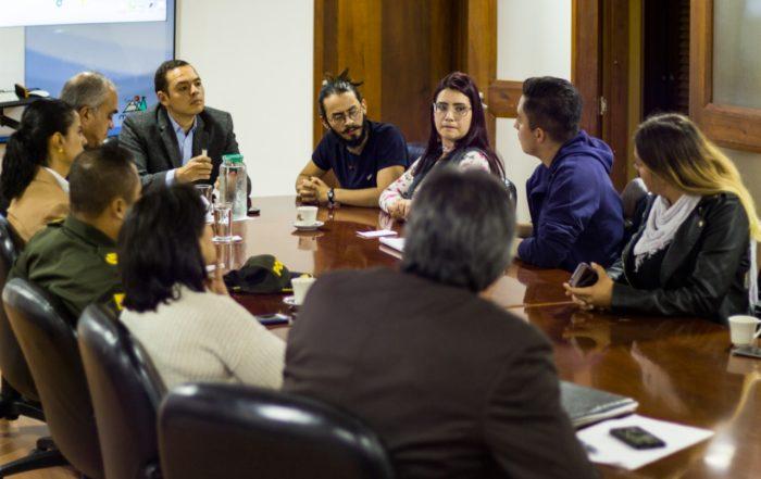 Acuerdos marchas 21 de enero /Foto: Alcaldía Manizale