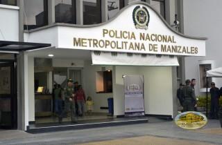 Comando de Policía de Manizales / Foto: RCN Radio.