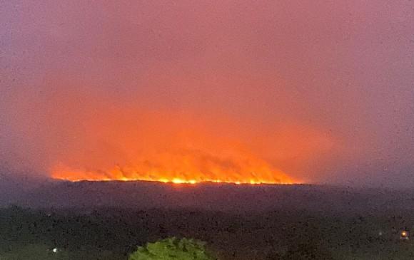 Incendio en La Macarena, Meta / Foto: El Colombiano