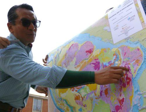 58 científicos presentan el Mapa Geológico de Suramérica a escala